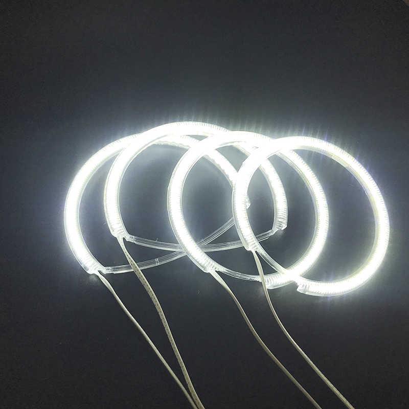 Mazda 3 mazda3 2002 2003 2004 2005 2006 2007 Ultra parlak SMD beyaz LED melek gözler 2600LM 12V işık halkası kiti gün işığı