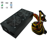 Free Ship 1800w Psu ATX Power Supplies For Mining Asic Bitcoin Miner Pc Power Switch Ethereum