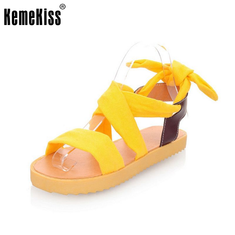 Women Flat Sandals Colorful Fashion Summer Sweet Casual Cross Strap Lady Shoes Woman Flats Sandalias Footwear Size 34-39 PA00258 2017 new arrival hot sale fashion summer sweet women flats heel sandals casual buckle strap roman sandals flat flat women shoes