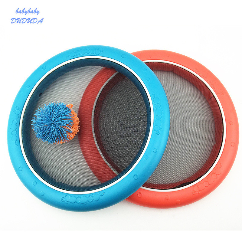 2pcs Flying disc Toy Multipurpose Sports Fun Game Interactive Parent-child Indoor Outdoor Flying Disk throw disc