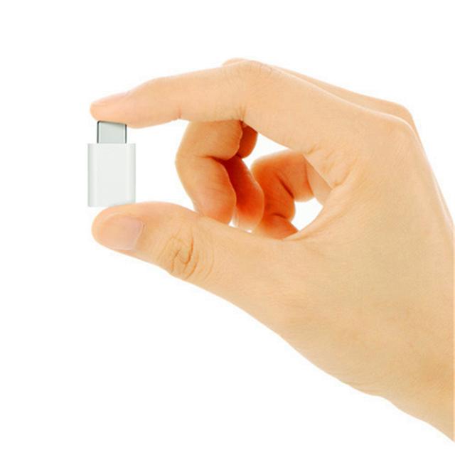 Set de 2 Cargadores Pequeños de Micro USB a Tipo C