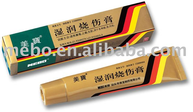 Wound Care Burn Treatment Ulcer Treatment Mebo Wound Ointment Burn