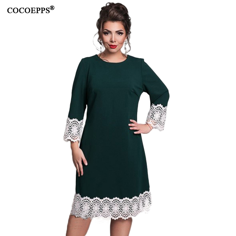 Алиэкспресс модные платья больших размеров