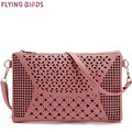 FLYING BIRDS! women bags for women messenger bags shoulder bag ladies handbag purse high quality pouch hollow out bolsa LM3142fb