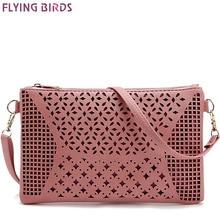 FLYING BIRDS! women bags for women messenger bags shoulder bag ladies handbag purse high quality pouch hollow out bolsa LM3142fb