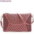 Flying birds! mujeres bolsas para mujeres bolsas de mensajero bolsa de hombro bolso de las señoras monedero de la alta calidad ahueca hacia fuera la bolsa LM3142fb