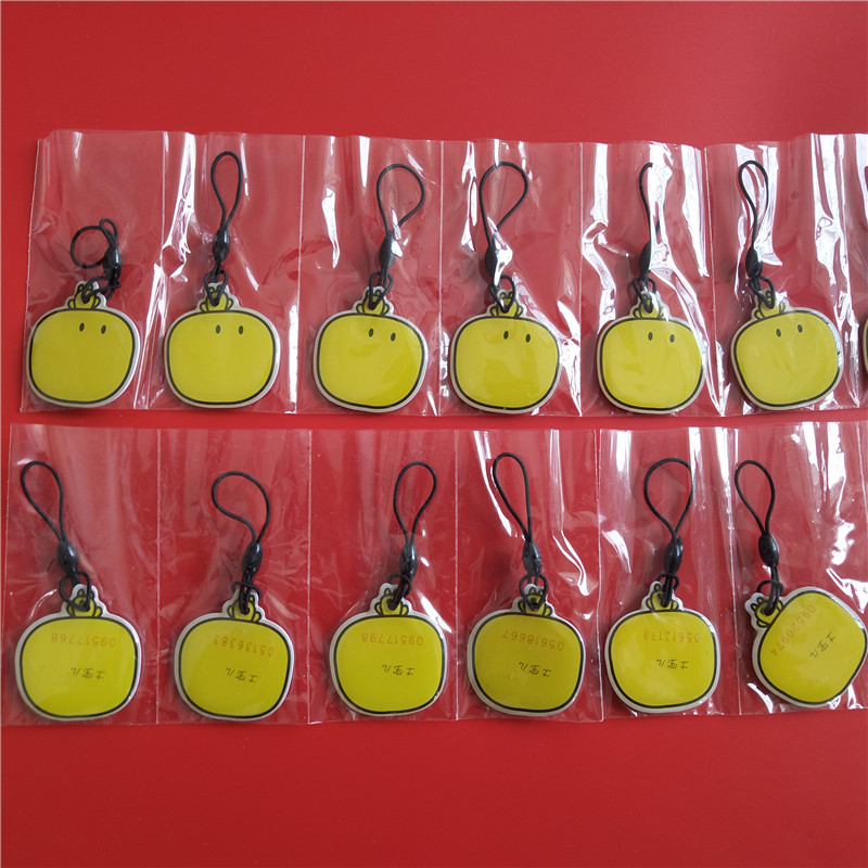 Proximity EM4100 EM4102 125KHz RFID ID Card Tag Token Key Chain Keyfob Read Only Color Yellow Pack of 100 turck proximity switch bi2 g12sk an6x
