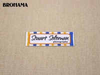 98 Custom Labels Custom Clothing Labels Name Tags Text Boxes White Organic Cotton Iron TB038