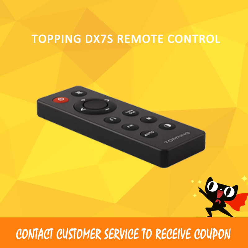 TOPPING DX7S AMP Headphone Amplifier for Remote control