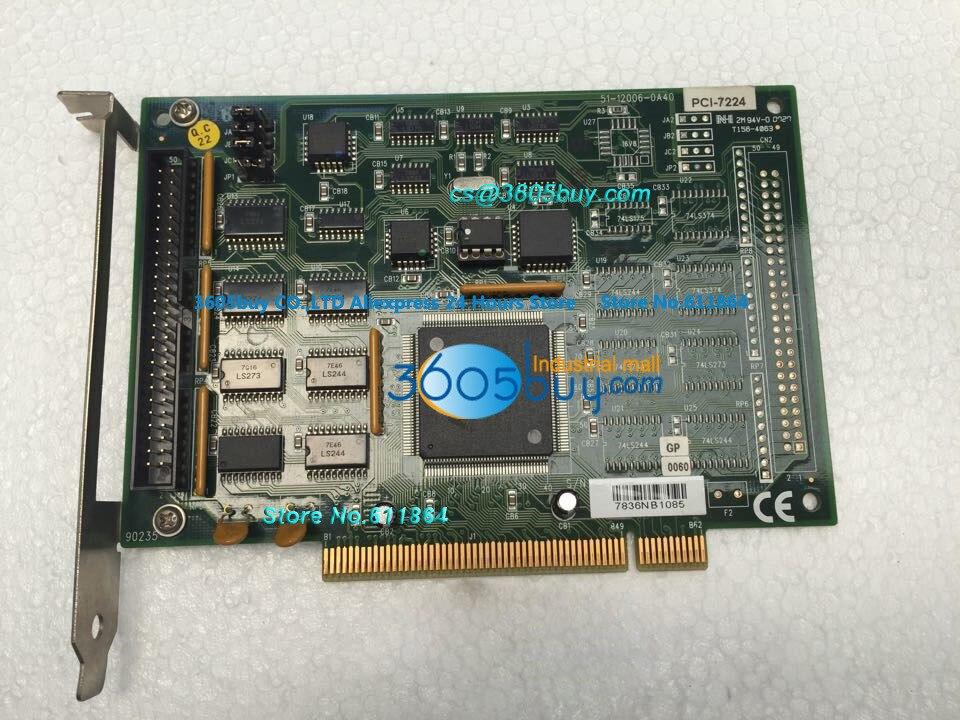PCI-7224 100% tested perfect quality Digital I/O Board Channel Opto-22 Compatible DIO Board