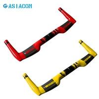 ASUACOM Volle Carbon Fahrrad Rest Lenker Rennrad TT Lenker Kleine rad 25 4*380/400/420/ 440/460mm klapp Fahrrad Teile