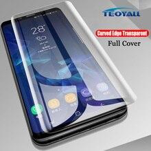 Copertura completa UV Colla di Vetro Temperato per Huawei Compagno di 20 Pro Protezione Dello Schermo per Huawei Mate20 Pro Trasparente di Protezione pellicola