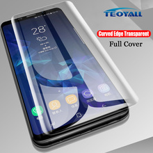 Pełna pokrywa klej uv szkło hartowane dla Huawei Mate 20 Pro ochraniacz ekranu dla Huawei Mate20 Pro przezroczysta folia ochronna