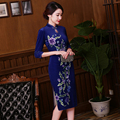 Hot Sale Women Cheongsams Chinese Wedding Dress Chinese Traditional Silk Qipao Women Cheongsam Qipao Female Party Dress Summer
