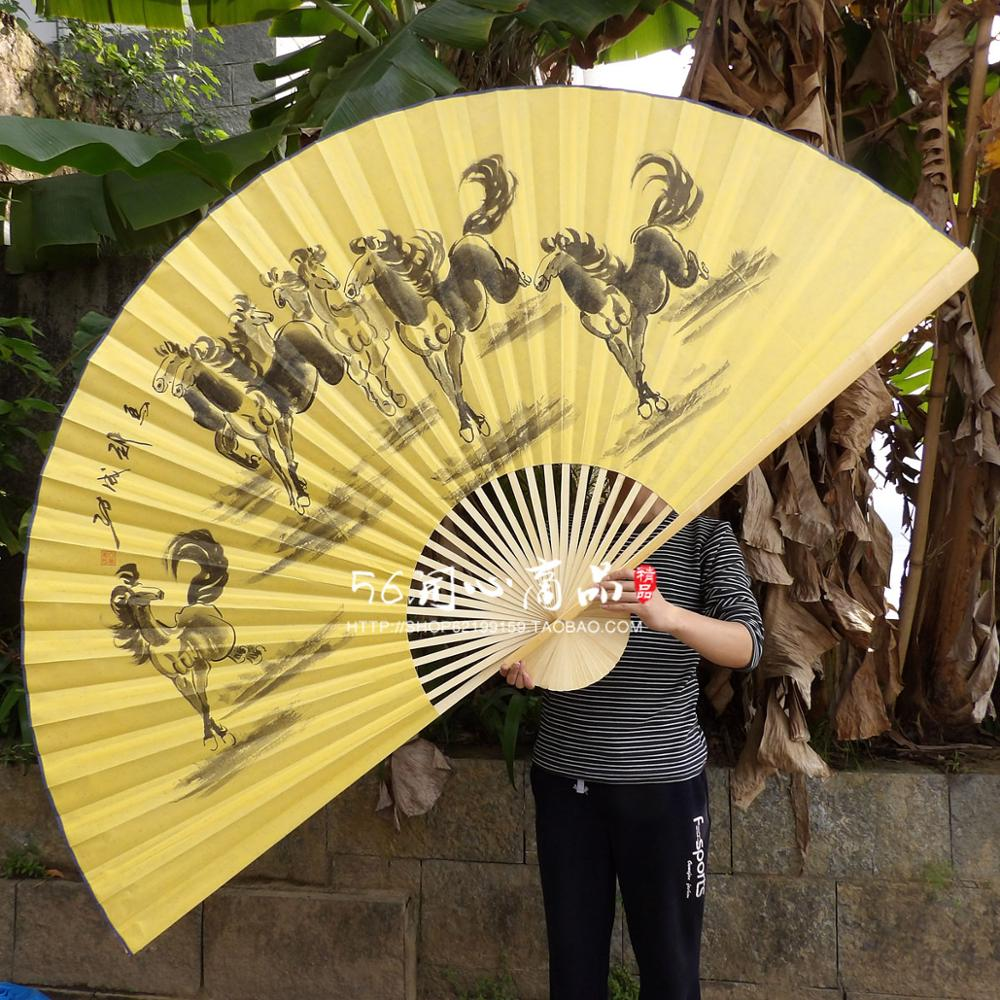 I AM YOUR FANS]Free shipping 1pc Giant Asian hanging Fan for ...