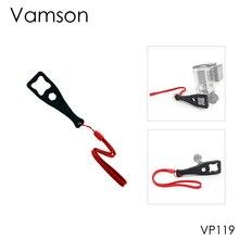 Vamson para gopro hero 8 7 6 5 4 acessórios apertar botão parafuso porca ferramenta chave inglesa para go pro para sjcam para yi 4k para eken