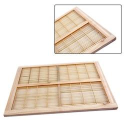 Pszczelarstwo pszczoła klatka do izolowania królowej ula pszczelarz 1pc drewno bambusowe sprzęt pszczelarski pułapka ula 51x41cm praktyczne|Przybory pszczelarskie|   -