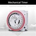 Механический таймер 250 В счетчик времени напоминание 15 мин 24 ч кухонный таймер энергосберегающий Контроллер промышленный таймер