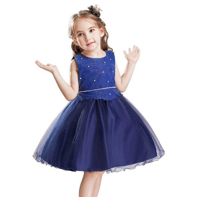 Vestido de color azul