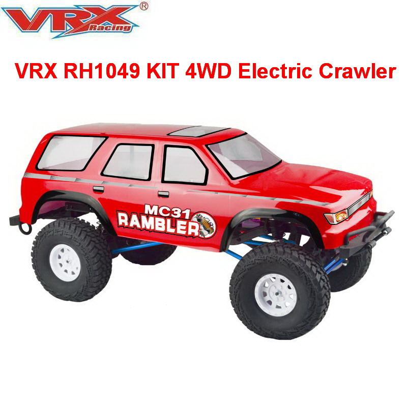 RC Crawler VRX RH1049 KIT 1 10 Scale 4WD Electric RC Car without electronics included Car