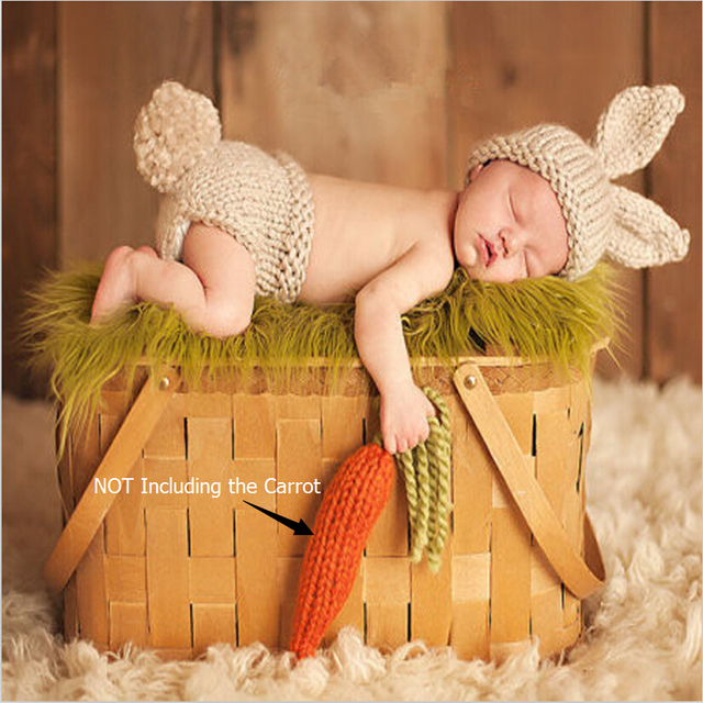 Cute Animals Crochet Costume for Newborn Photography