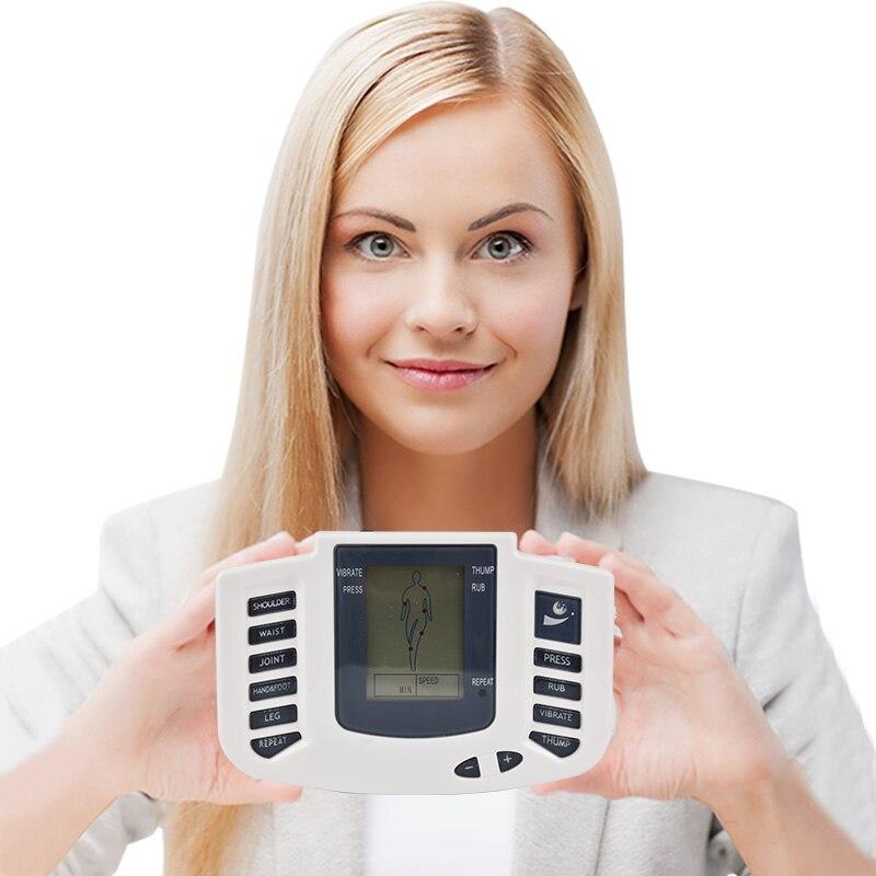 Eléctrica Cuerpo masajeador raspado/catación/golpe vibrar/shiatsu decenas acupuntura terapia máquina estimulador muscular aliviar la fatiga