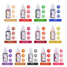 10ml 13 Colors Handmade Soap Coloring Pigments Base Color Liquid Dye Pigment DIY Colorant Soap Colorants Natural Basis for Soap