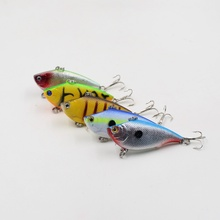 Hot sell Cheap 1PCS japan Artificial 3D eyes Hard Crank Super clear scale to attract big fish baits with sharp hooks Tackle tool