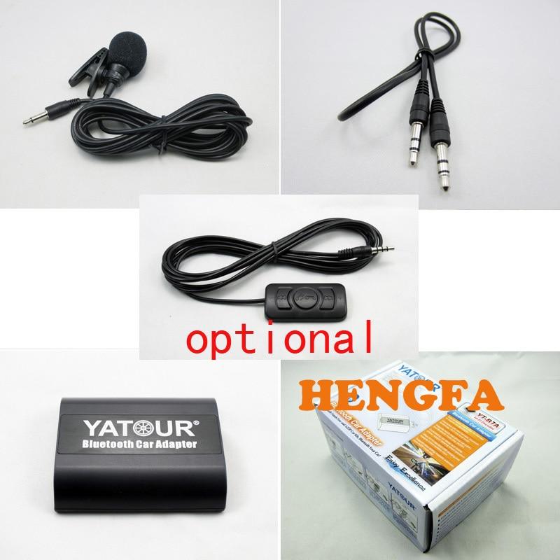 Yatour BTA Bluetooth Hands Free A2DP ավտոմեքենայի - Ավտոմեքենաների էլեկտրոնիկա - Լուսանկար 6