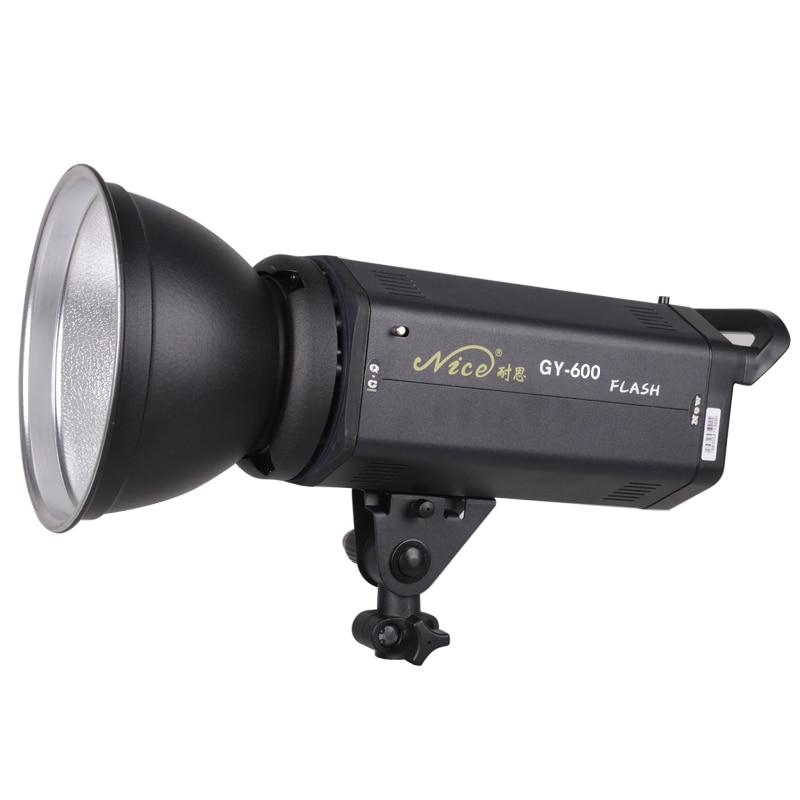 NiceFoto gy-600w flash lamp photography light studio flash shooting light background light