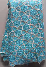 French Nigerian High Quality Tulle Lace Fabric
