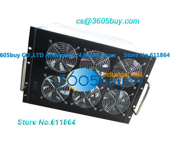 Rack type GPU machine multi card case dual power card heat dissipation