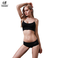 ROLECOS 2018 New Arrival Solid Color Seamless Panties For Women Sexy 4 Pcs/Lot Female Underwear Casual Health Briefs For Women