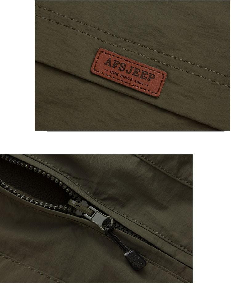 2015 Autumn Spring Casual Men Vest Coat Fleece AFS JEEP Cotton Multi Pocket 4XL Cargo Outdoor Sleeveless Jackets Waistcoat Vests (13)