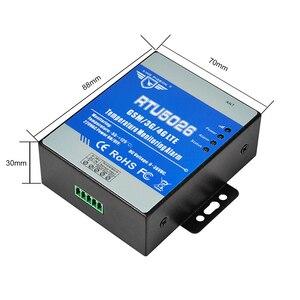 Image 4 - GSM 3G 4G LTE telemetría monitoreo de temperatura Medición de alarma 55 a 125 grados Celsius soporte reinicio remoto RTU5026