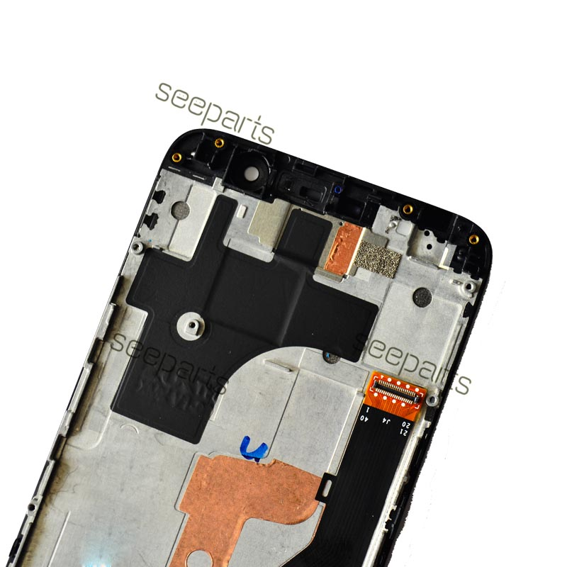 Image 4 - 5.5 Lenovo ZUK Z1 LCD Display Touch Screen Digitizer Assembly  With Frame Z1221 Replacement Parts Lenovo ZUK Z1 DisplayMobile Phone  LCD Screens