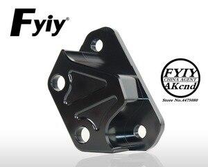 Image 3 - CNC aluminium alloy brake caliper bracket Motorcycle modifvation For Yamaha NVX155 Aerox 155 40mm brake caliper bracket