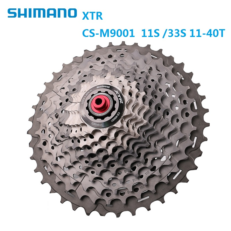 Bicycle Freewheel 11S SHIMANO X T R CS M9000 M9001 Cassette Freewheel 11 Speed 11T - 40T MTB Bike Cassette flywheel