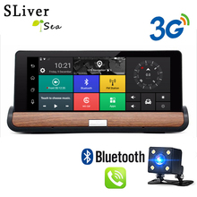 "On sale SLIVERYSEA 7"" 3G Car DVR Camera GPS ADAS Android 5.0 Car camera FHD 1080P Video Recorder Registrar Dashcam Parking Monitor"