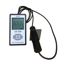 Solar Power Meter Split Light Transmittance Tester Professional For Glass Solar Film PVC Light Transmittance Measurement