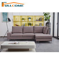 China Luxury Home Furniture Modern Fabric Scandinavian Sofa Set Living Room Furniture Set Feather Italian Corner Sectional Sofas