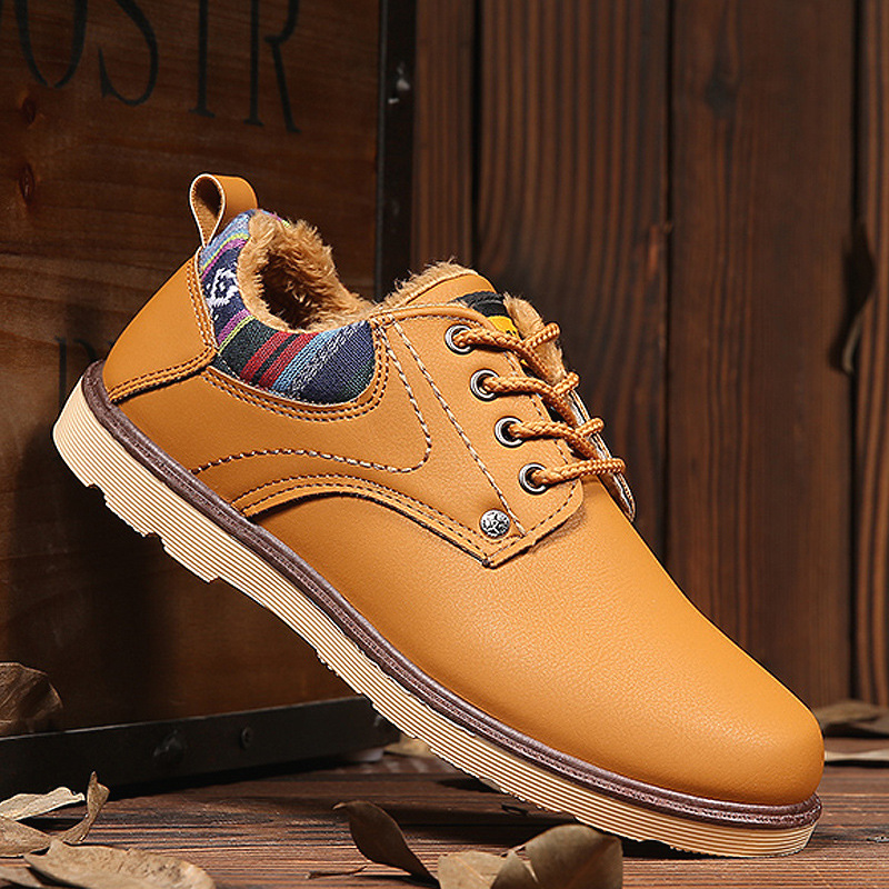 Shose Outillage Désert orange bleu Martin Tige Noir En Chaussures Casual Basse Bottes Mingpinstyle Travail Cuir Hommes De Angleterre wqSTWOUE7