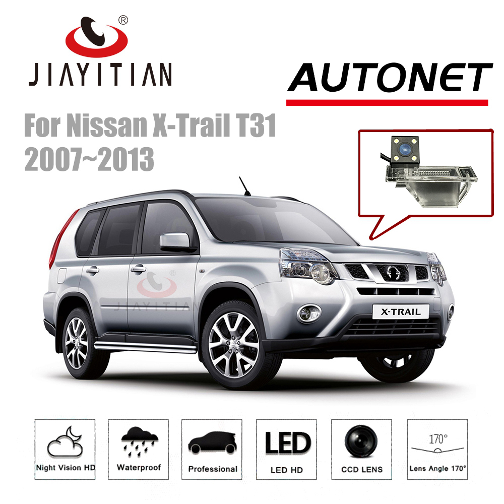 JIAYTIAN Rear View camera For Nissan X-Trail X Trail T31 2007-2013 CCD backup Camera Parking Night Vision license plate camera gear shift