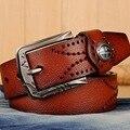Homens de luxo cintos ceinture cinto de couro real para calças de vaqueiro, marca equipamento militar mens belt cintos cinta