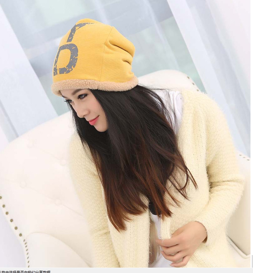 Elegant Women Hat Winter & Fall Beanies Knitted Hats For Woman Rabbit Fur Cap Autumn And Winter Ladies Female Fashion Skullies98