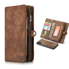 Leather Case For iPhone 7 8 6 6s Plus X XR XS Max Cases Flip Wallet Cover For Huawei P20 Lite Mate 20 P30 Pro Magnet Phone Case