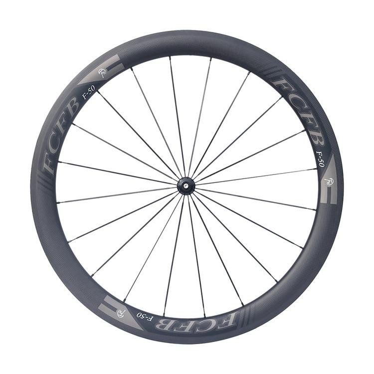 HTB1LZ5uPpXXXXcOXVXXq6xXFXXX9 - 2017 FCFB road carbon wheels 700C F50 carbon wheels with R36 hubs for Road Bike, 25mm width 3Kmatt Carbon Road clincher wheelset