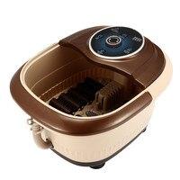 10L Automatic Electric Roller Foot massage Barrel Bath Bubble Heating Soaker Vibration Deep Bucket Pedicure Soak Feet Basin Tub