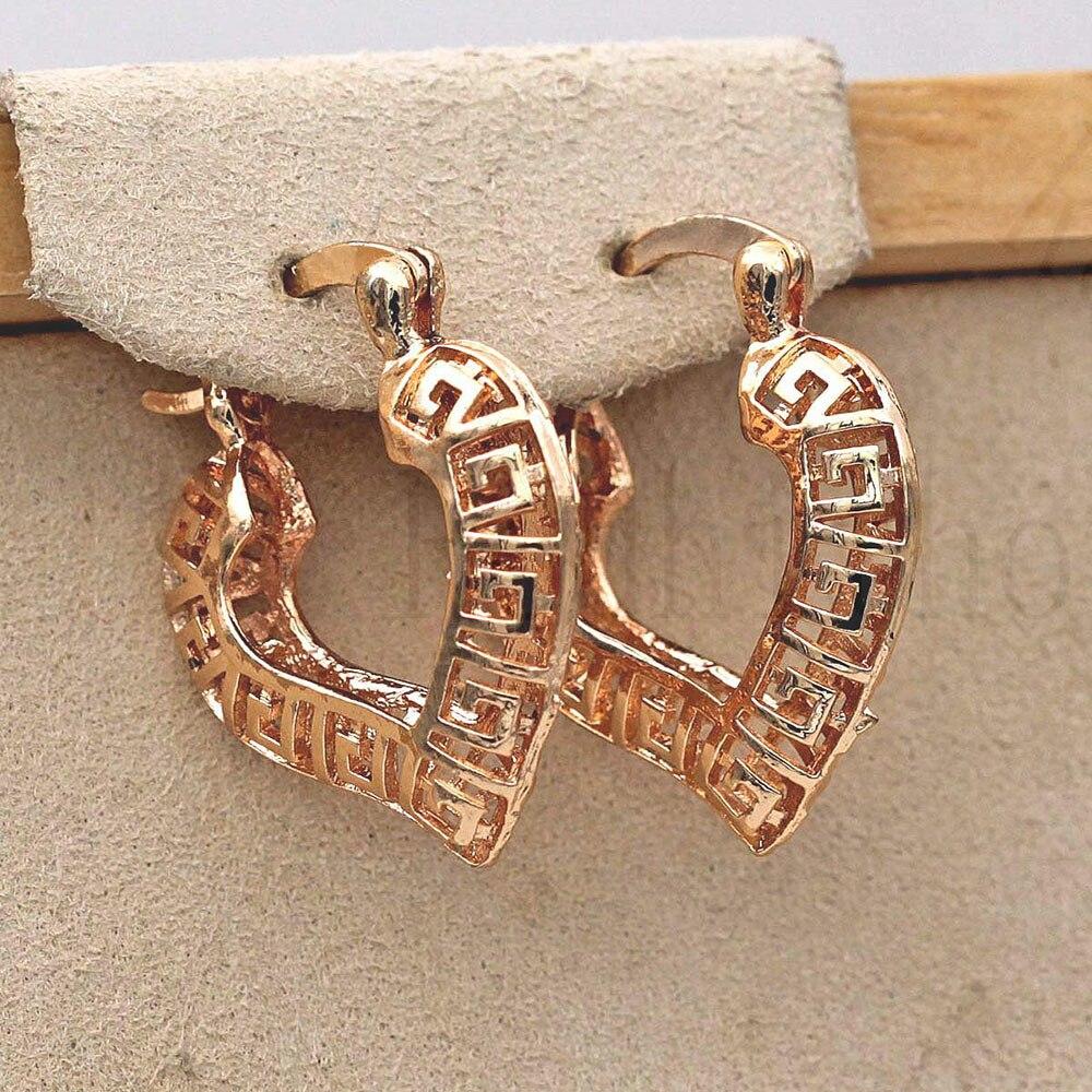 Ear Rings Women's Bohemian Earrings For Women Gold Fashionable Earrings Earring Circle  Hoop Earrings Trendy Wedding Jewelry