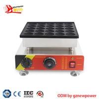 110V 220V commercial waffle oven 25 hole muffin machine 800W waffle maker English manual